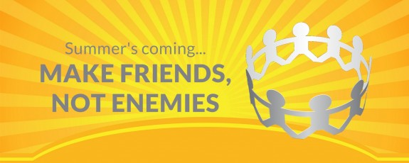Larlyn Property Management tips - make friends not enemies - neighbour conflict management