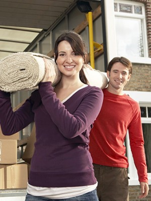 Movers following time management tips from Larlyn Property Management