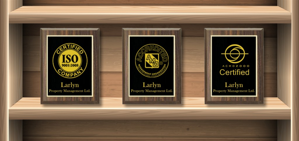 Larlyn is recognized by several external certifications and designations