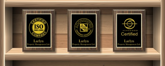 Accredited Management Organization Designation Awards - Larlyn Property Management
