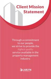 client Mission Statement Plaque 11x17
